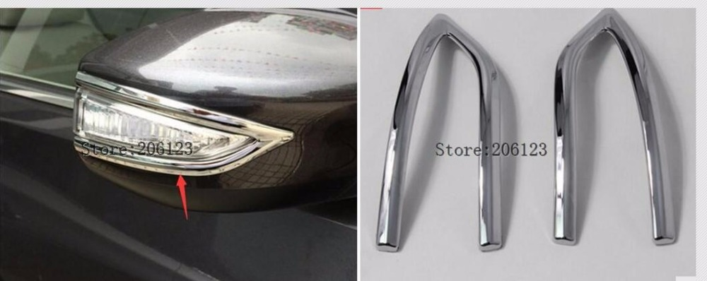 Side Door Mirror Decoration Trim Car Back Mirrors Garish Strip ABS Chrome For Nissan Teana Altima 2013 2014 2015 2016 2017 2018