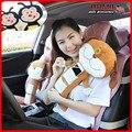 Suave felpa niños perrito de coches cinturones de seguridad Pillow cubierta para el regalo navidad animales de asiento perro almohada cubierta del cinturón de seguridad adultos niño niños