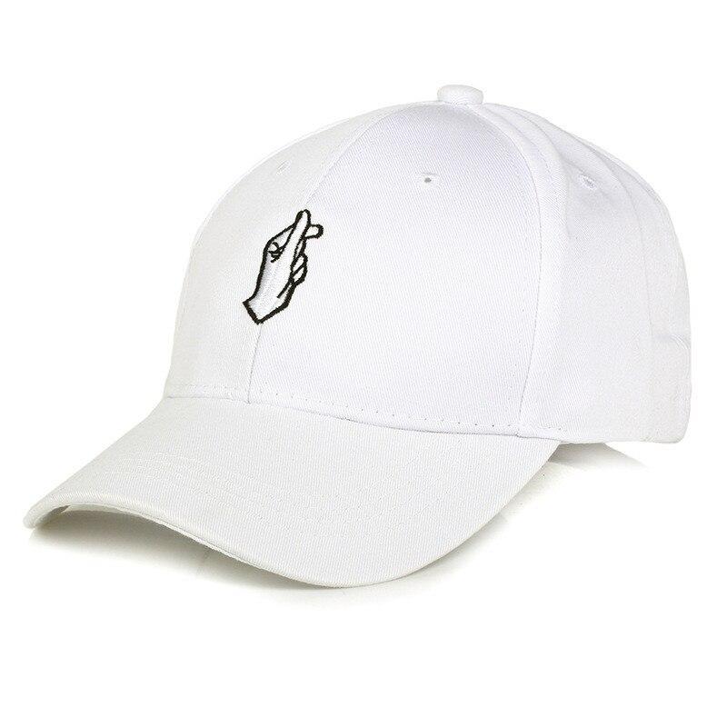 Heart Gesture Unisex KoreaStyle Baseball Hat Love Finger Cap Peaked Cap