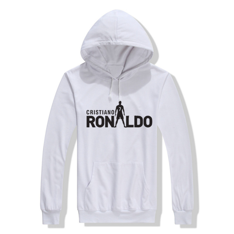 2017 new autumn men Fashion Cristiano Ronaldo Hoodies Sweatshirt 7 MADRIDES cool printed 10121118