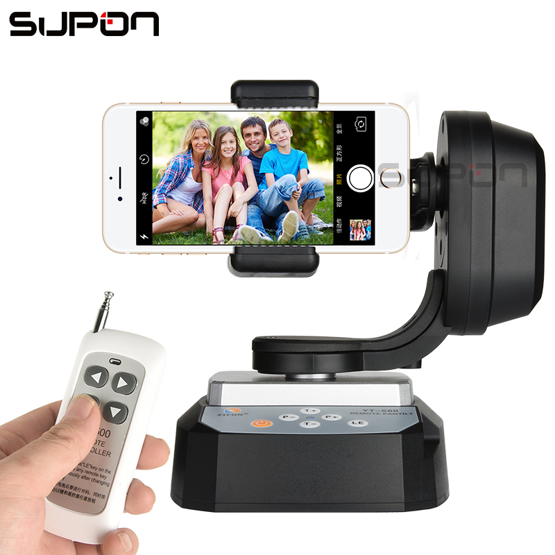 SUPON YT-500 Smart Go Pro Panoramic PTZ Pan Title Wireless Remote Control for Phone SLR camera Web Webcast Cam Baby supon yt 260 rf remote control rc