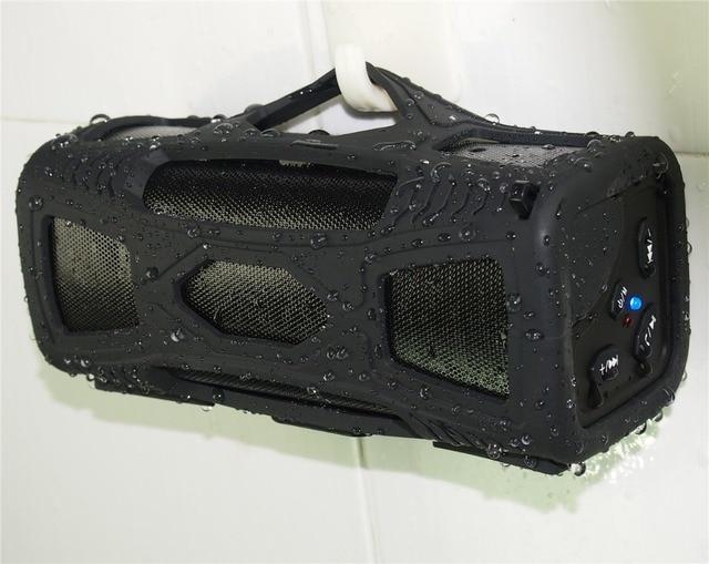 DHL  2015 waterproof for shower room 10W BT4.0 super bass HI-FI super bass bluetooth mp3 speaker