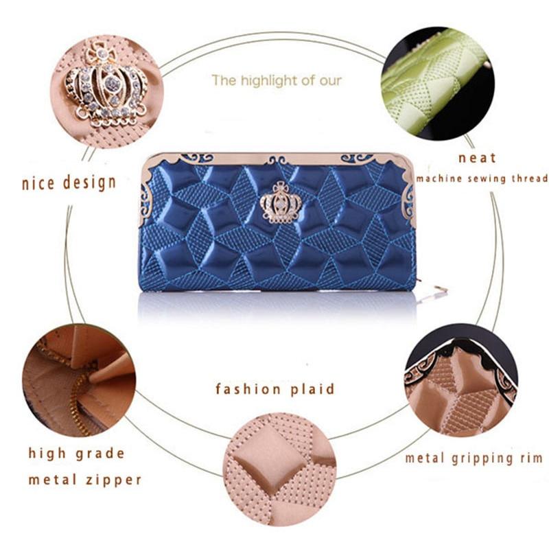 feminina carteira bolsa senhora elegante Women Wallets 2017 Function : Wallet Clutch Purse