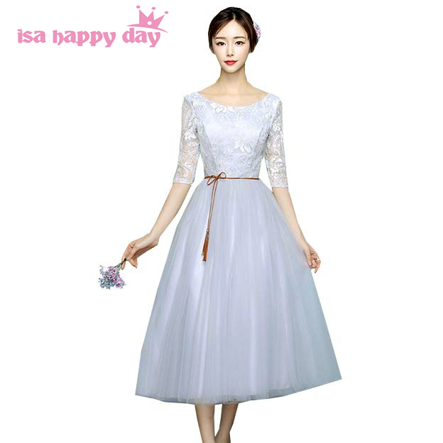 78891529f7 US $25.18 5% OFF|new arrival beautiful fashion sexy elegant short grey  tulle party gowns evening dress 2019 formal dresses ball gown H4089-in  Evening ...