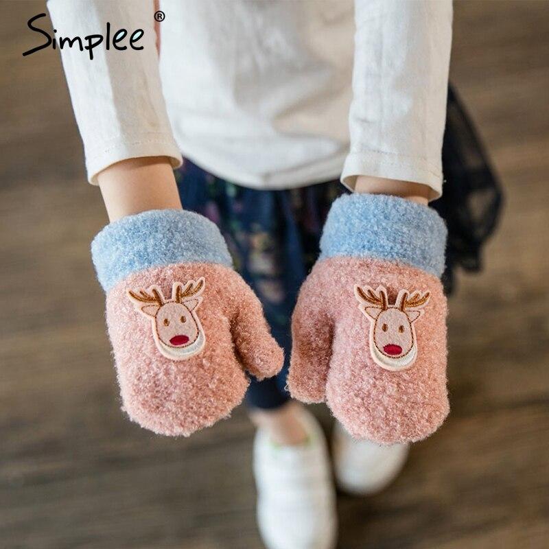 Elch warme herbst winter handschuhe kinder weihnachten geschenk für jungen Heilung deer kinder handschuhe baby handschuhe 2018 Weihnachten handschuhe kind