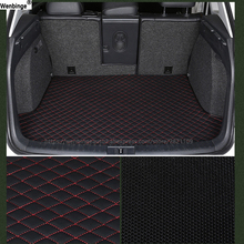 wenbinge car trunk mat For for BMW all medels X3 X1 X4 X5 X6 Z4 525 520 f30 f10 e46 e90 car styling custom car cargo liner pad kalaisike linen universal car seat cover for bmw all models 520 525 320 f10 f20 x1 x3 x5 x6 x4 e36 e46 car styling accessories