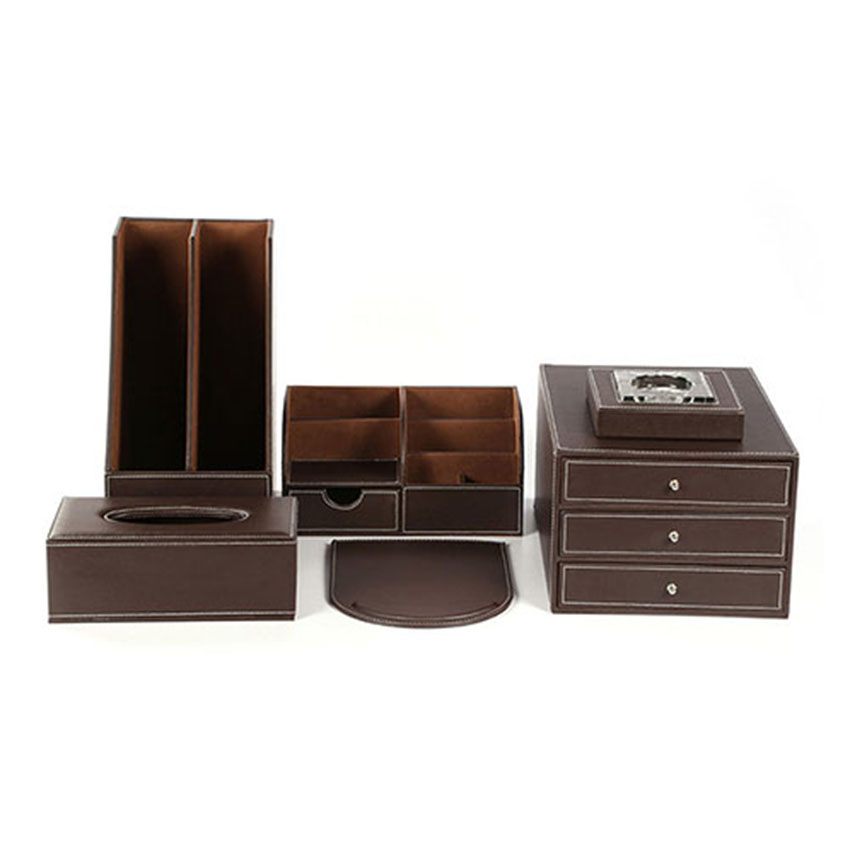 ever perfect desk set pen pencil holder paper file cabinet storage box for study office t02