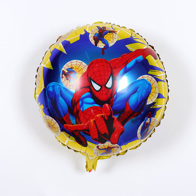 verjaardag spiderman ballon