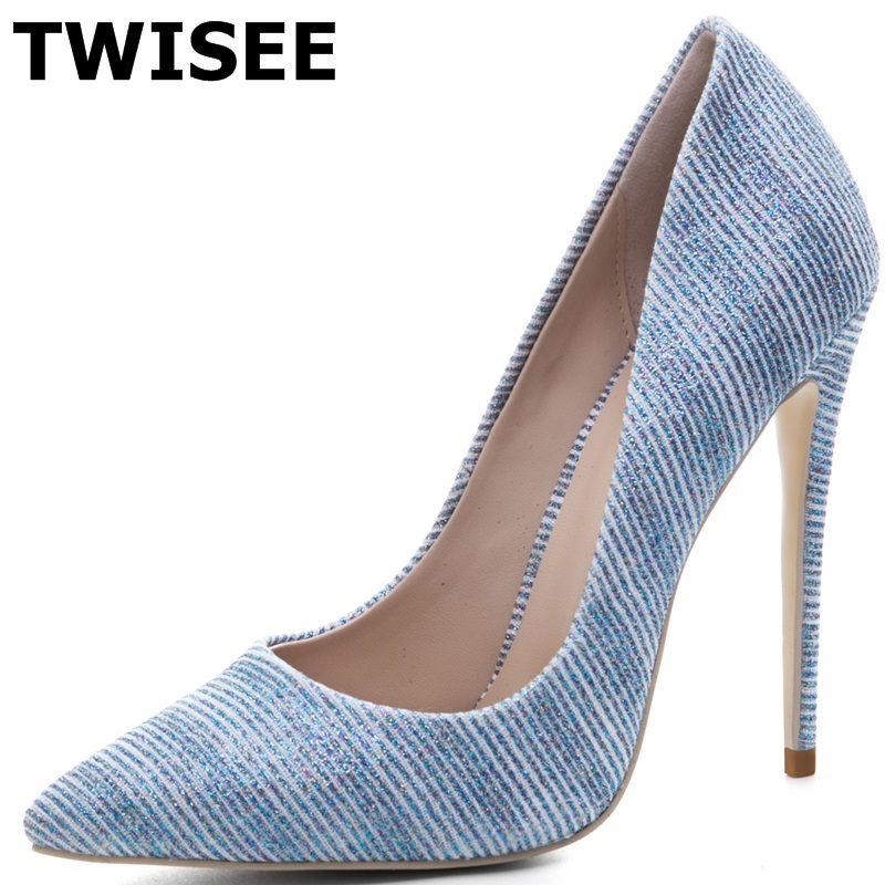 chaussure femme Pumps zapatos mujer new style fashion point toe thin high heels 12 cm woman casual shoes leisure