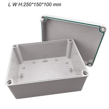 Plastic Waterproof Electric Project Junction Box 100*100*90 High - end plastic waterproof junction box IP67 IK08 sunqian hard plastic storage box for equipments and tools ip67 waterproof rating