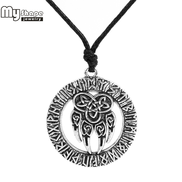 Talisman Amulet Viking Slavic God Symbol Warding Veles Antique Bear