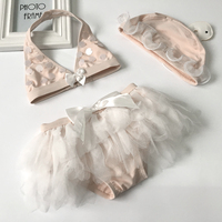 Infantil Baby Girl Swimwear Swimsuit For Kids Swimming Suit Set Toddler Girls Bathing Suit Child Bathers
