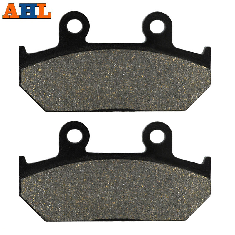 AHL Motorcycle Rear Brake Pads for <font><b>Suzuki</b></font> AN250 AN 250 Skywave 2007 2008 AN400 AN 400 <font><b>Burgman</b></font> <font><b>AN650</b></font> Skywave AN 650 2003-2016 image