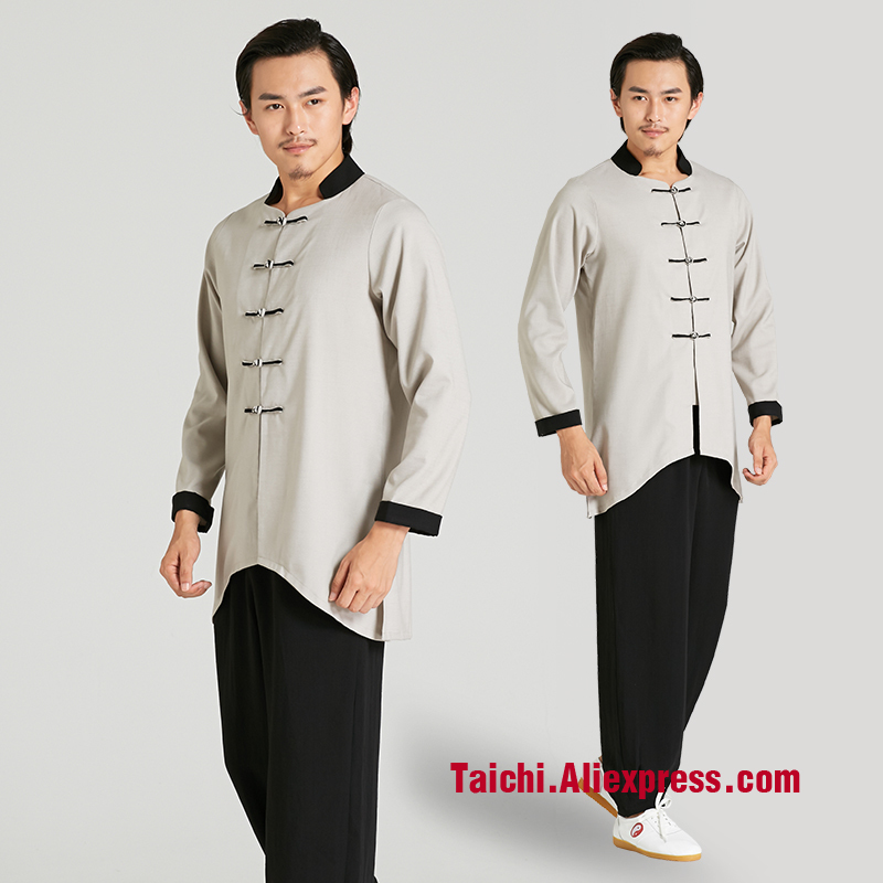 martial art Tai chi uniform Taiji tradition of Chinese  new  clothing Kunfu clothes martial art tai chi cloak taiji cloak only cloak