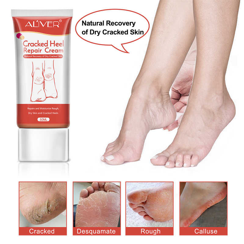 Anti Dry Crack Repair Heel Feet Care Foot Balm Exfoliating Foot Creams Hand Cracked Heel Cream