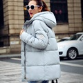 New 2016 Women Down Coat New Fashion Hooded Cotton Padded Winter Jackets Coat High Quality Ladies Warm Outerwear CT139