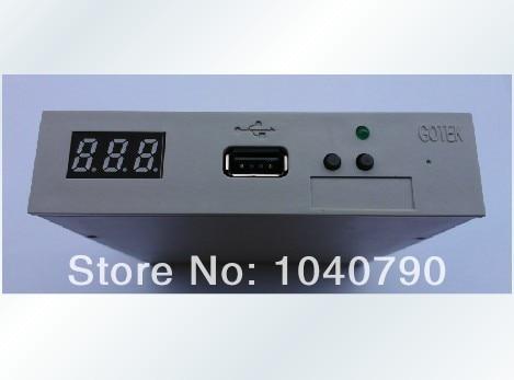Free Shipping SFR1M44-U100 Normal version 3.5 Inch   1.44MB USB SSD FLOPPY DRIVE EMULATOR GOTEK