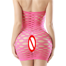 KWD Fishnet Underwear Elasticity Cotton Lenceria Sexy Lingerle Hot Women Sex Costumes For Mesh Baby Doll Dress Erotic Lingerie