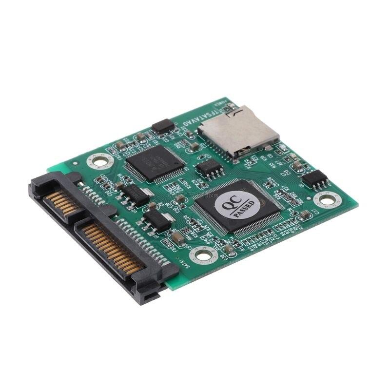 Micro SD TF TARJETA DE 22pin SATA adaptador de módulo convertidor 2,5 Hdd