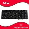 Inglés teclado ee. uu. layout para toshiba satellite a500 a505 a505d f501 l535 p505 p205 p300 l350 brillante negro teclado del ordenador portátil