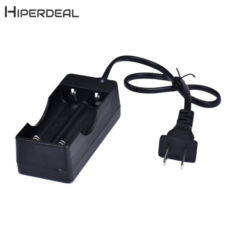 HIPERDEAL New AC 110V 220V Dual Charger For 18650 3.7V Rechargeable Li-Ion Battery US Plug 18Jan04 Drop Ship