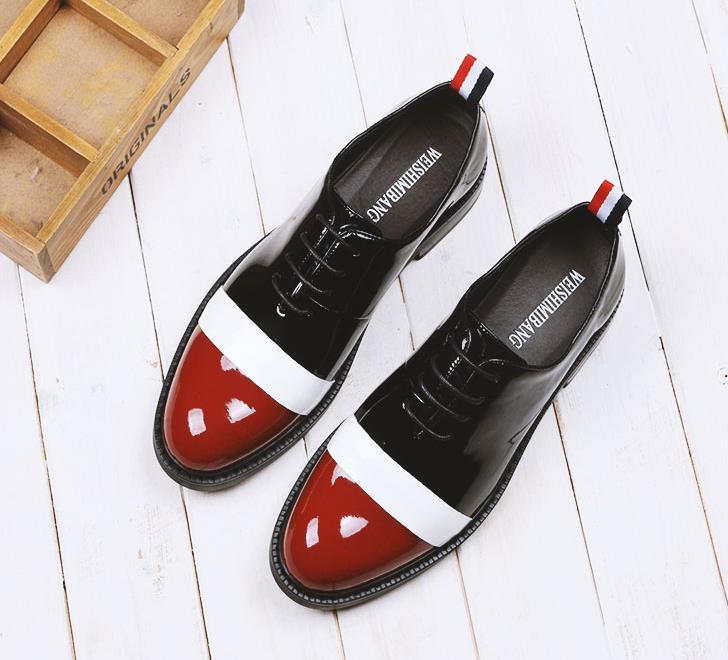 Hommes De Assorties Oxford Chaussures Avec Sharp Basses Été Marée Britannique Loisirs Nouveau 2018 Sort EHIW9Y2Deb