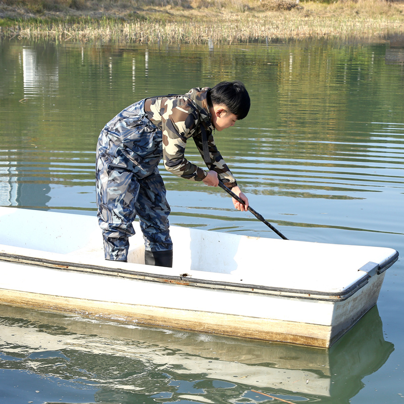 Здесь можно купить  High-Jump 29.5cm Camouflage Fishing Waders PVC Waterproof Breathable Chest Cloth Waders Dichotomanthes End Water Sport Clothing  Спорт и развлечения