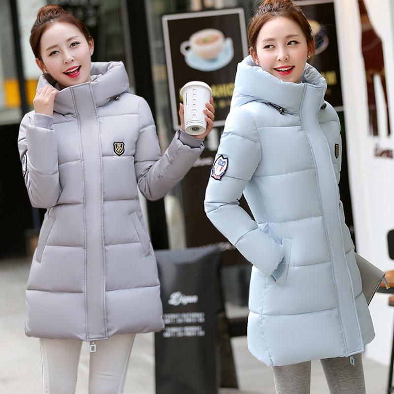 ФОТО TX1121 Cheap wholesale 2017 new Autumn Winter Hot selling women's fashion casual warm jacket female bisic coats