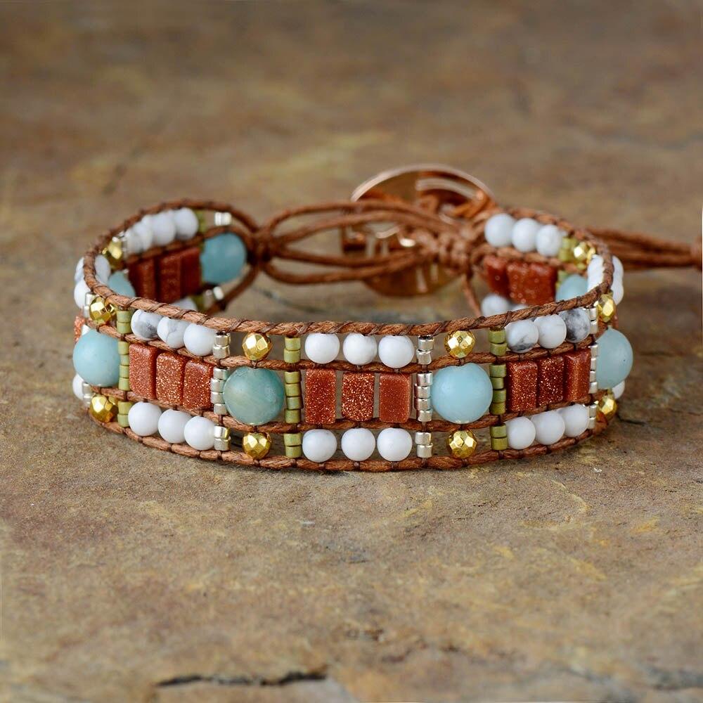 Exclusive Bracelets Howlite...