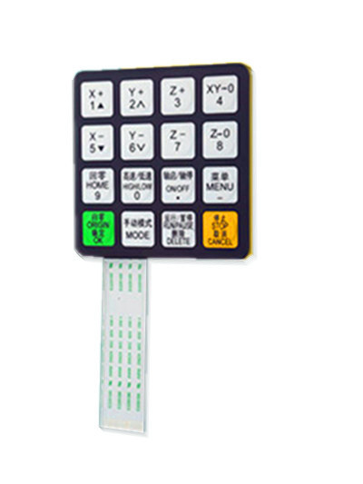 Original RZNC CNC Router DSP A11/A15/A18 Controller Handle Pad Panel,DSP Control Panel