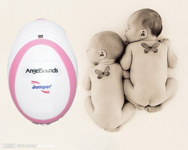 CE & FDA Angelsounds Fetal Doppler Pocket Ultrasound fetal