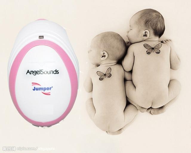 CE & FDA Angelsounds Fetal Doppler Pocket Ultrasound fetal