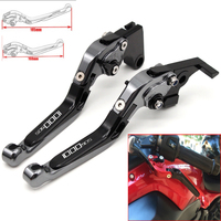 Motorcycle CNC Adjustable Foldable brake Clutch Levers for Ducati MTS1000SDS/DS 2004 2006 with Logo (1000SDS)