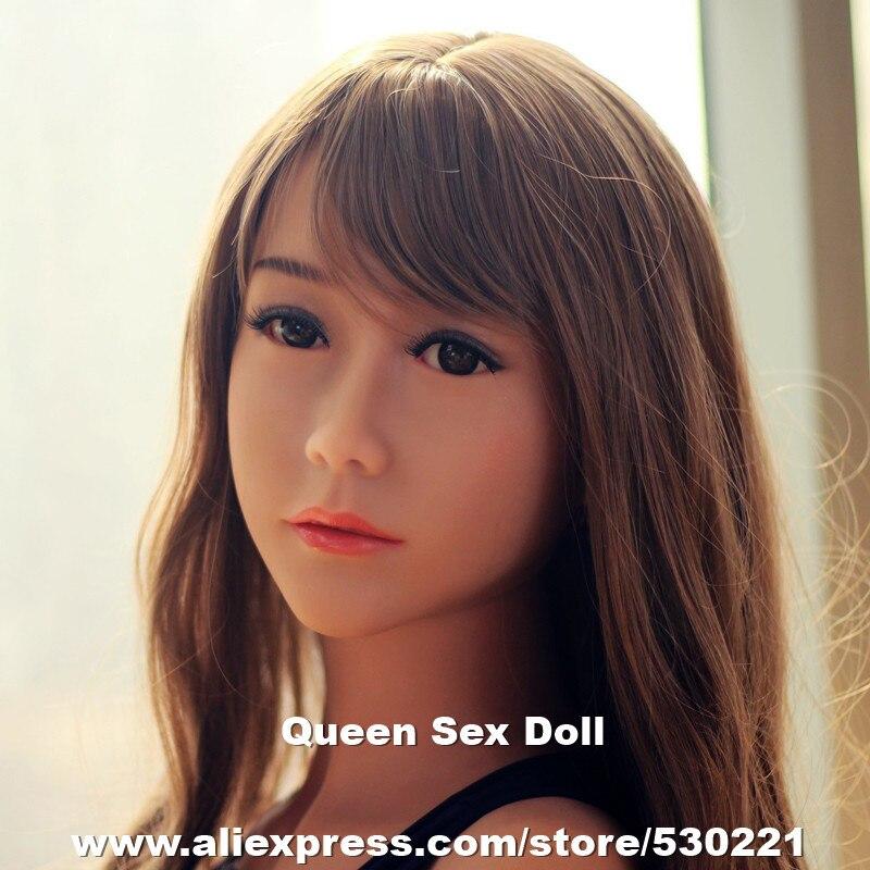 WMDOLL #85 najwyższej jakości manekin głowa lalki sex, oralny głowy dla pełna silikonowa lalka miłości, sex zabawki w Gumowe lalki od Uroda i zdrowie na AliExpress - 11.11_Double 11Singles' Day 1