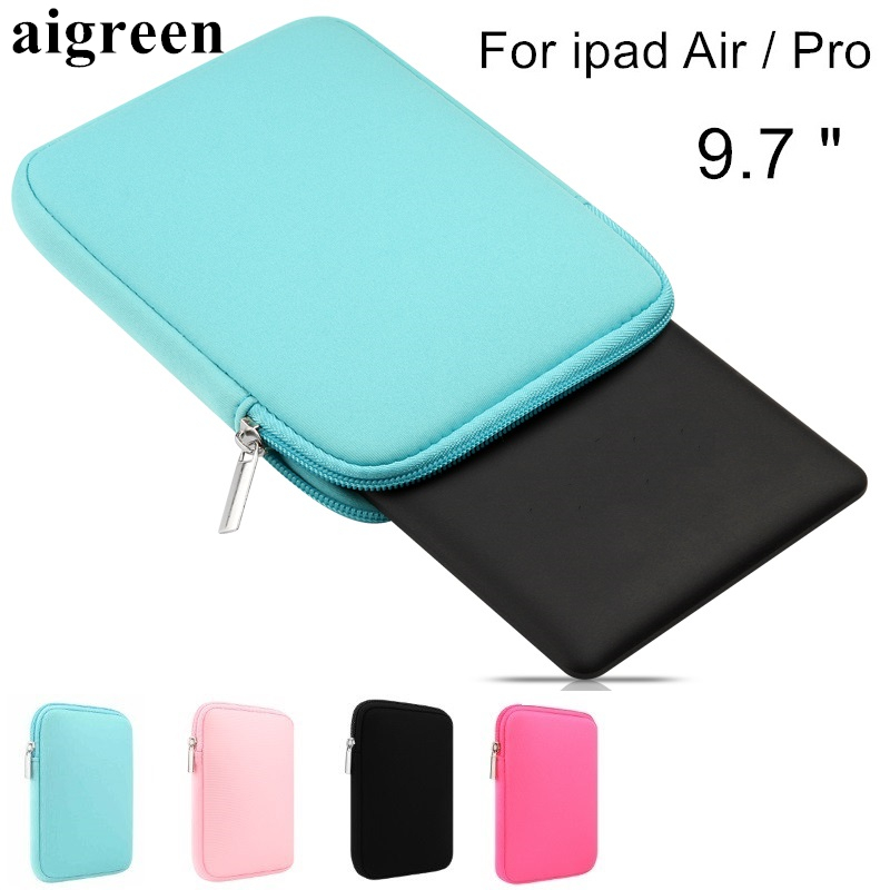 Newest Hot Soft Sleeve Case For Apple Ipad, Bag For ipad Air 1/2, Pouch For ipad Pro 9.7 inch, Wholesales,Free Drop Shiping IC01 2017 newest hot sleeve case bag for macbook laptop air 11 12 13 pro retina 13 3 protecter wholesales drop free shipping