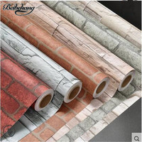 beibehang self adhesive retro nostalgia wallpaper brick Wenwen Chinese wallpaper three dimensional stickers waterproof wall
