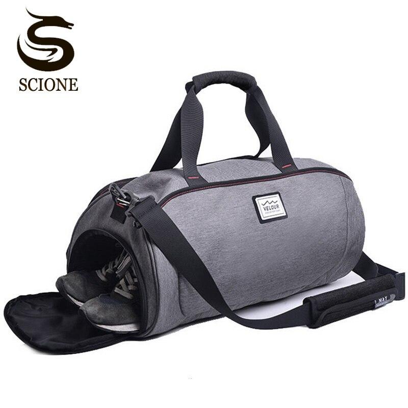 Waterproof Shoulder Travel Bag Large Storage Women Fashion Duffle Bags Unisex Men's Handbag Crossbody Travel Duffel Bags Luggage