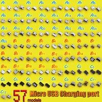 57 моделей 7 pin 5PIN Мини Micro USB разъема Jack пайки для Samsung для HTC для ZTE для LG женский телефон планшет зарядки Порты и разъёмы