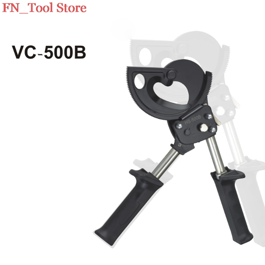 FASEN VC-500B RATCHET CABLE CUTTER PLIER Cutting capacity 500mm WIRE CUT TOOLS vc 60a ratchet cable wire cutters cut steel strand wire cutters wire cutters cut wire