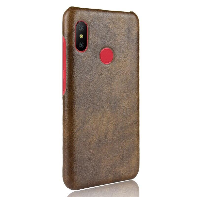 innovative design 16a32 6e484 For Xiaomi Mi A2 Lite Case Xiaomi A2Lite Case PU Leather Hard ...