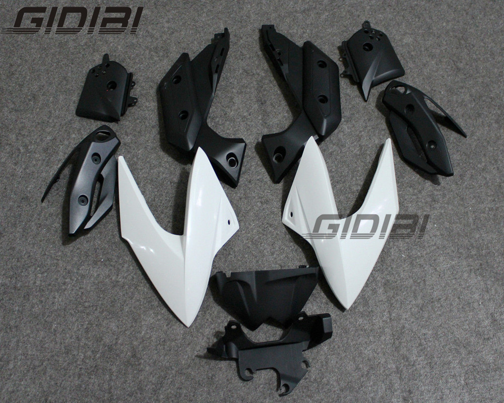 Motocicleta ABS Unpainted Injection Mold Kit Carenagens Carroçaria Para YAMAHA XJ XJ6 6 2009-2012 10 11 + 4 presente