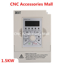 1.5kw 220v BEST Frequency Inverter VFD Variable Frequency Drive for spindle motor 220v 0 75kw pwm control variable frequency drive vfd 3ph input 3ph frequency drive inverter