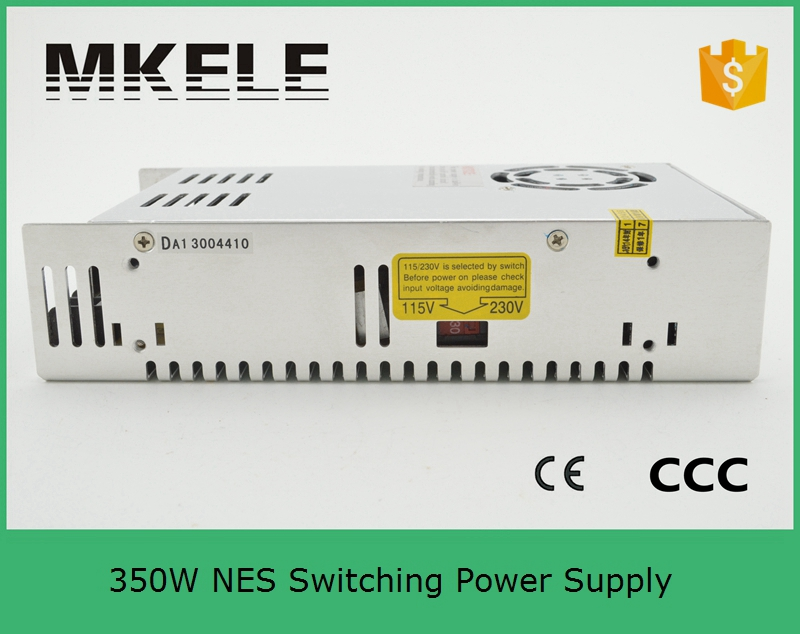 ФОТО short circuit protection 350w NES-350-7.5 46a 7.5v ROHS CE certification single output led switching model power supply