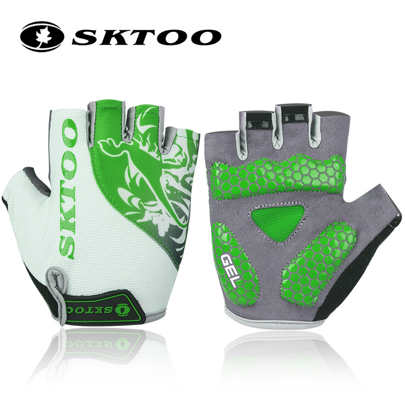 2018 sports summer cycling gloves half finger bike bicycle gloves for men women guantes ciclismo breathable bycicle accessories body building sports cyling half finger gloves for women black red
