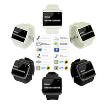 """U-Uhr 2 S Smartwatch 1,2 """"Touchscreen Bluetooth 3,0 Schrittzähler PSG Sitzende anti-verlorene Sync RC Kamera BT Mp3-player Smart Uhr"""