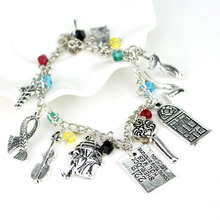 Sherlock Holmes Charm Bracelet