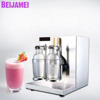 Beijamei двойной головкой электрическое молоко шейкер для чая блендер 110 V 220 V напиток для сока молока встряхнуть шейкерная машина
