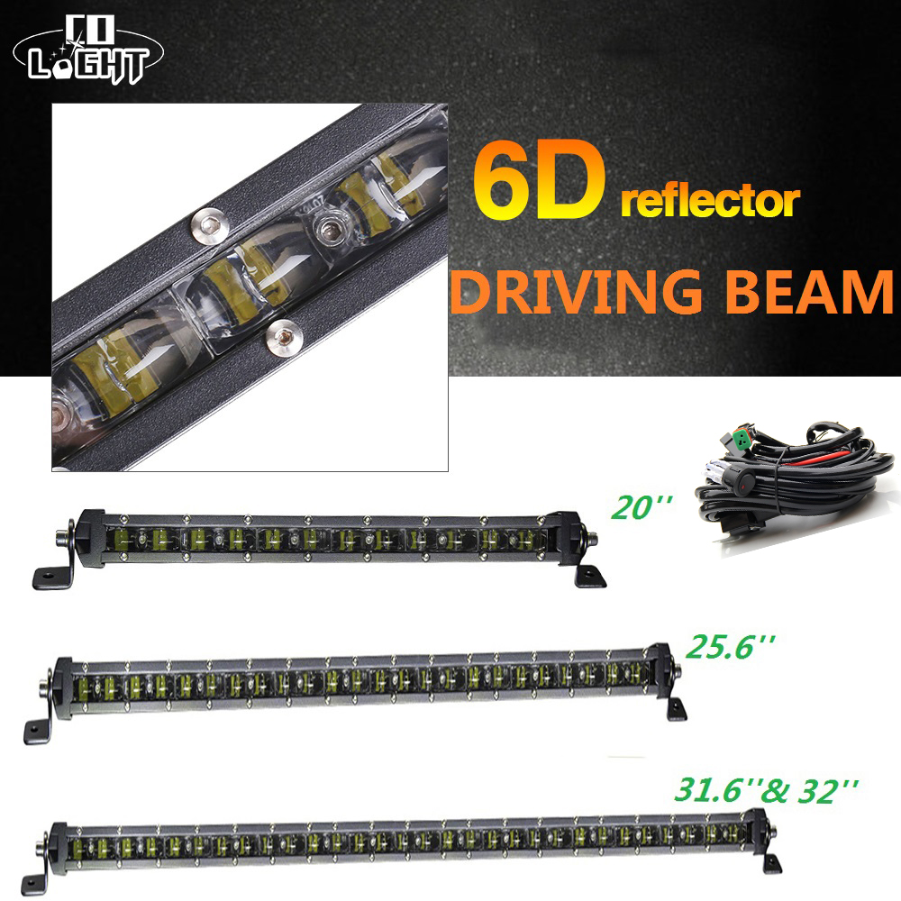 CO LIGHT OffRoad Led Bar 20 Inch Work Light Spot Flood 25 6 32 120W 150W