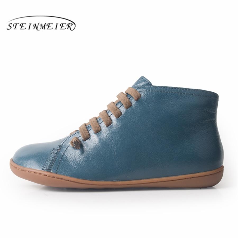 Mężczyźni zima śnieg buty oryginalne skórzane za kostkę wiosna płaskie buty człowiek krótkie brązowe buty z futerkiem 2019 dla mężczyzn sznurowane buty w Podstawowe buty od Buty na  Grupa 1