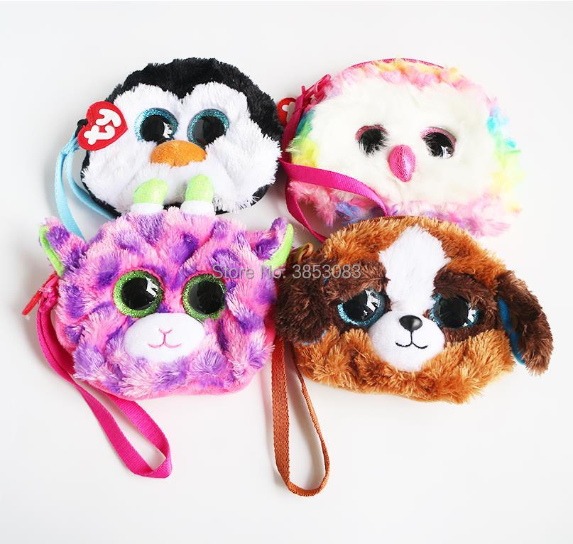 Ty Gear Beanie Boos Tracey the Black//white dog  BACK PACK Design New